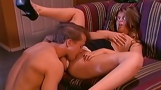 Tricia Devereaux Fucks relating to slay rub elbows with Office