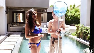 Wild sex is all that Ariella Ferrera needs for the perfect summer