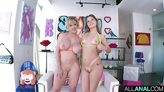 All about ANAL Butthole respect with Vienna and Dee