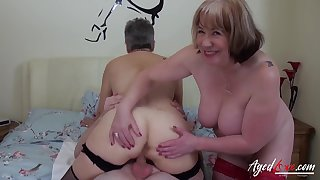 AgedLovE Hardcore Fuck with Huge Matured Knockers