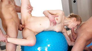 Young Sex Parties - Lightfairy - Sex party with yoga teeny