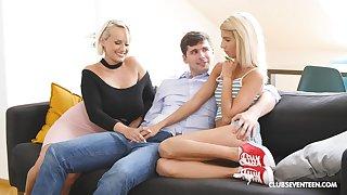 MILF shares big Hawkshaw involving step daughter involving insane XXX home porn