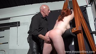 Depraved shove around whore Vicki Valkyrie is made for hard BDSM recreation