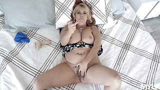Chubby microscopic MILF in crazy POV home scenes of outright porn