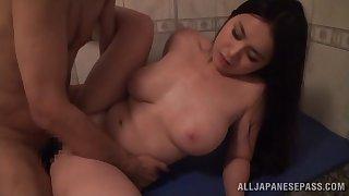Homemade video of sexy girlfriend Anna Natsuki having unrestrained sexual congress