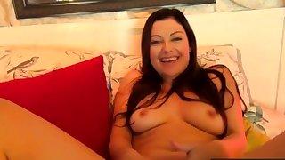 Real Pornstars Making GirlOnGirl Amateur Video
